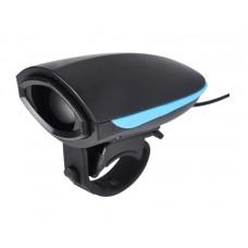 Звонок для велосипеда черно-синий
