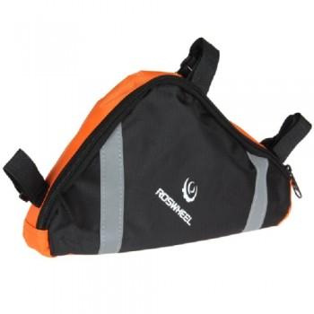 Roswheel подрамная велосумка , черно-оранжевая
