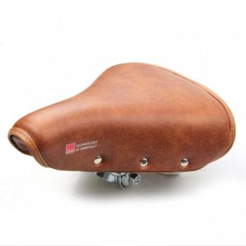 Vintage bicycle saddle