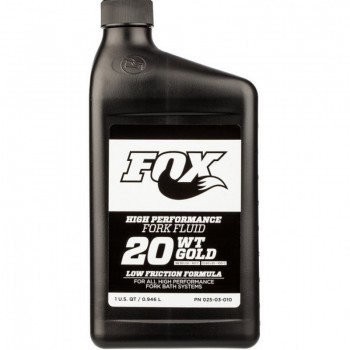 Суспензия Fox Racing Shox Gold Supspension Fluid - 20 WT 946 мл
