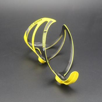 Флягодержатель карбоновый Queshark yellow
