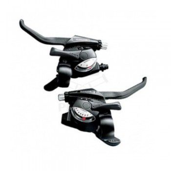 Shimano Tourney ST-EF40, 3x8, v-brake