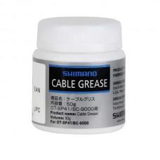 Специальная смазка Shimano Cable Grease для наружного покрытия рубашек, 50 g