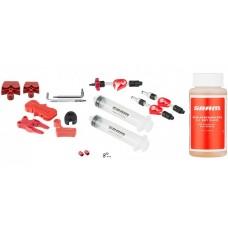 Набор для прокачки Avid Bleed Kit Standard + DOT 5.1, Bleeding Edge