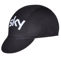 Кепка велосипедная Sky black