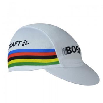 Кепка велосипедная Bora white