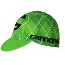 Кепка велосипедная Cannondale green