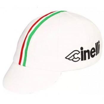 Кепка велосипедная Cinelli white