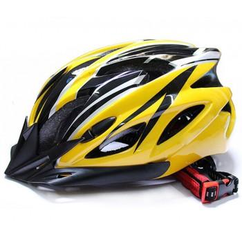 ВелоШлем Ciclismo yellow +в подарок очки