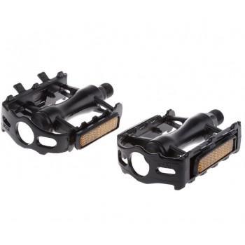 Велосипедные педали подшипниковые черные