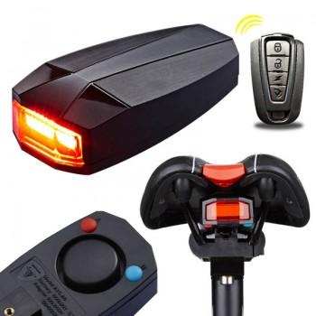 Задняя мигалка Antusi A6 с пультом управления, сигнализацией и звонком