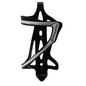 Флягодержатель алюминиевый EasyDo черно-серый