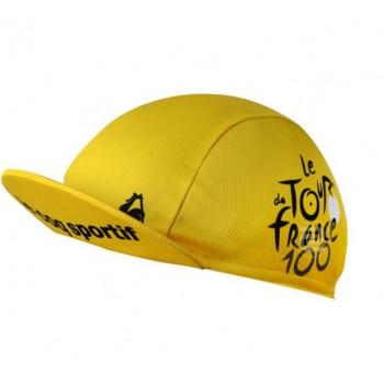 Кепка велосипедная Tour de France yellow