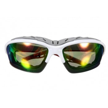 Велосипедные очки goggle, белый/хамелеон