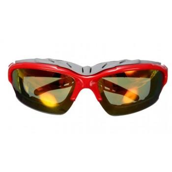 Велосипедные очки goggle, красный/желтый