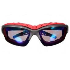 Велосипедные очки goggle, красный/синий