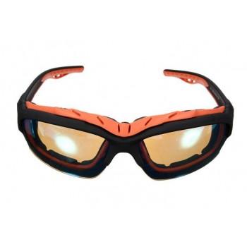 Велосипедные очки goggle, черный/оранжевый