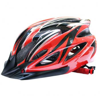 ВелоШлем Ciclismo red +в подарок очки