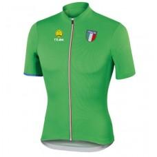 Велофутболка Italia green L,XL