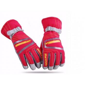 Перчатки зимние marsnow red