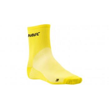 Носки Mavic Cosmic mid желтые размер 43-46