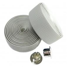 Обмотка для руля, карбоновый оттенок белый