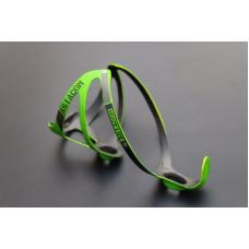 Флягодержатель карбоновый Queshark green