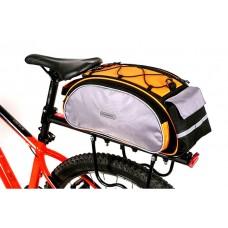 Велосумка Roswheel 13l для багажника orange