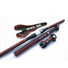 Карбоновый набор RXl SL  red (седло, руль, подседел, вынос)