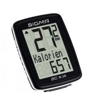 Велокомпьютер проводной Sigma 9.16