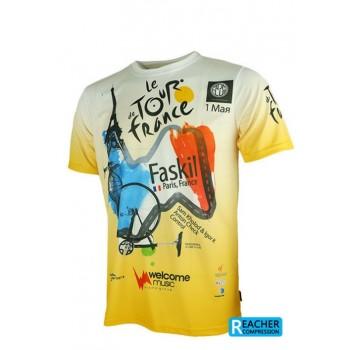 TourdeFrance футболка yellow