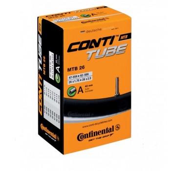 Камера Continental AV Schrader под 26 колесо